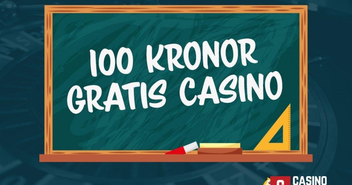 100 Kr Gratis Casinobonus Natcasinon Med 100 Kr Bonus Mars 2021
